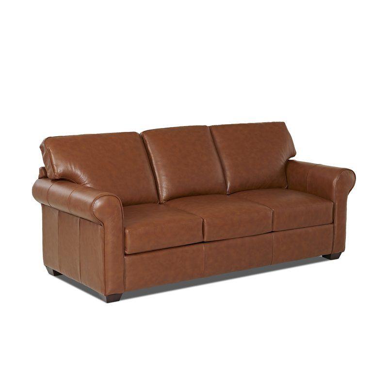 Danica Sofa Bed Leather Sleeper Sofa Leather Sofa Bed Wayfair Custom Upholstery