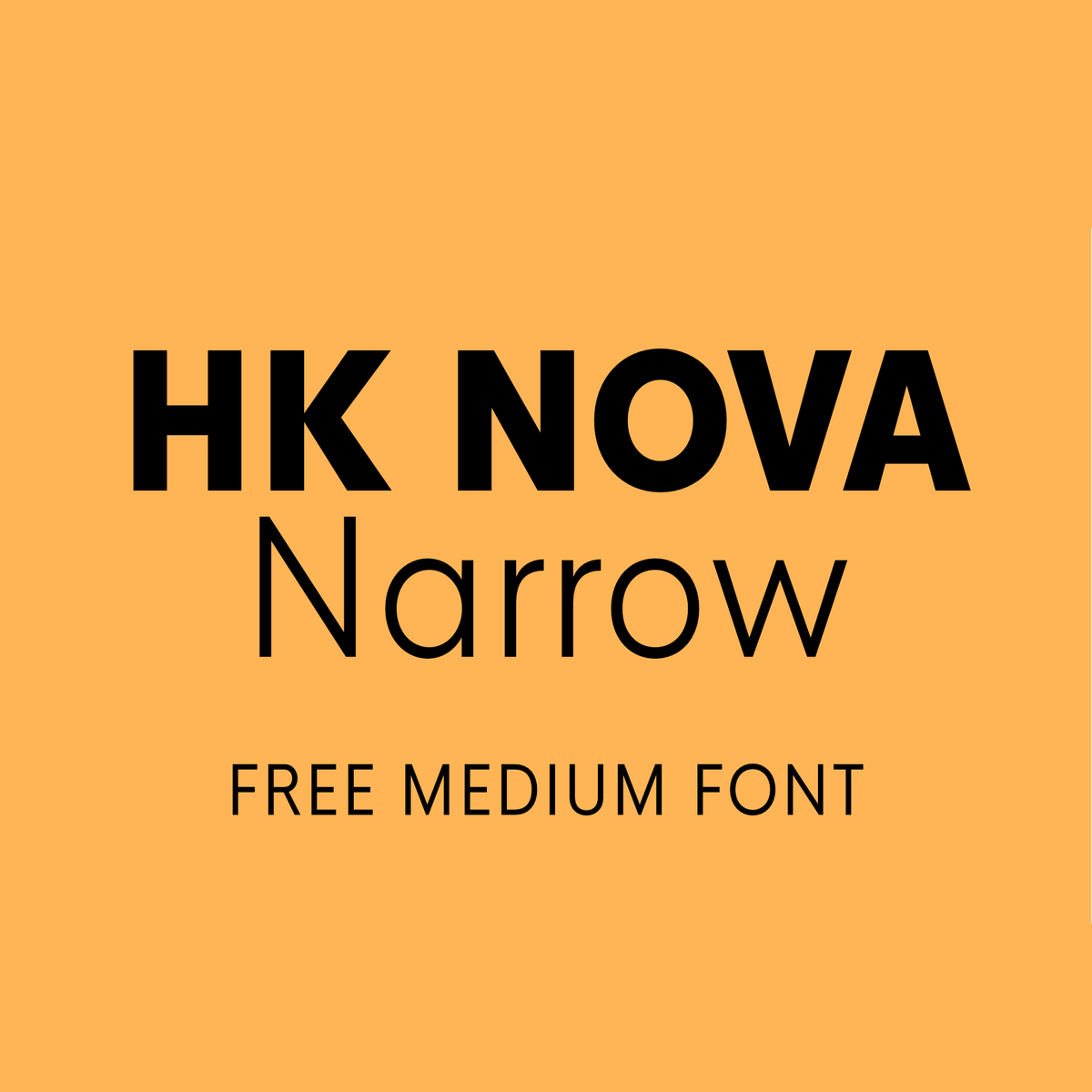 Hk Nova Narrow Medium Is Free To Use On Your Personal And Commercial Projects