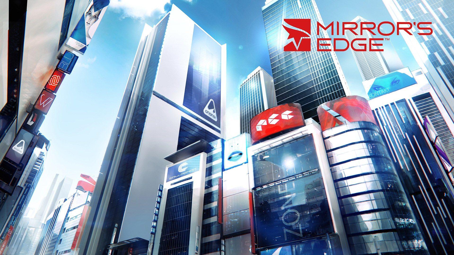 Обои edge, game, mirrors. Игры foto 19