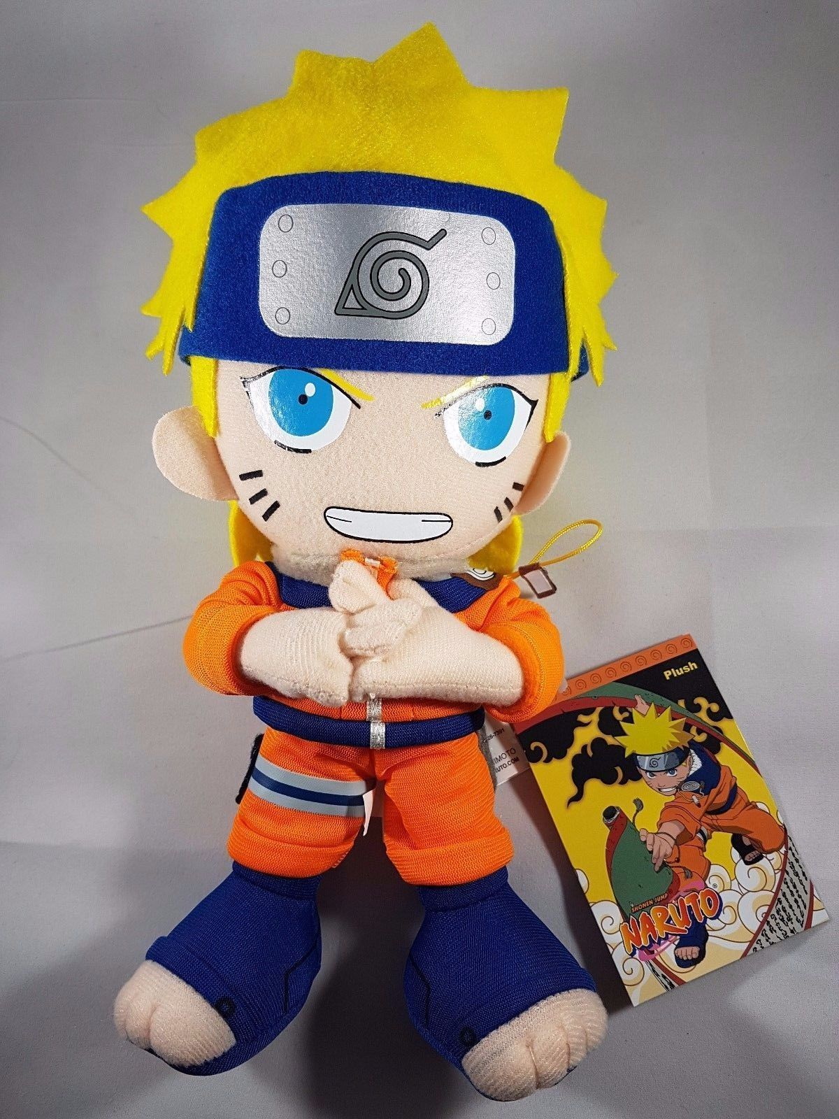 Official naruto stuffed plush doll by great eastern new