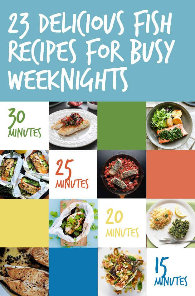 23 quick and delicious fish dinners fish dinner fish for Quick and delicious dinner recipes