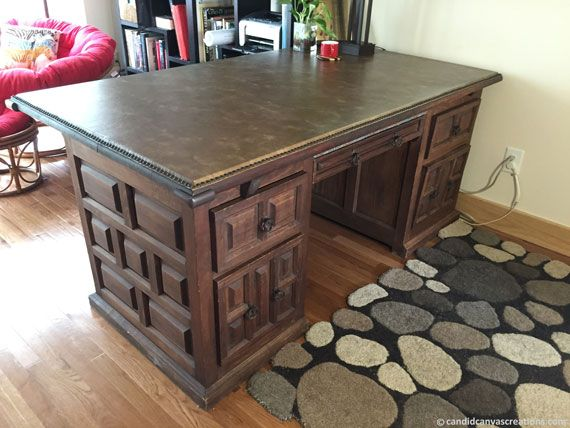 My Rustic Desk - a Rare Find on Craigslist! | Rustic desk ...