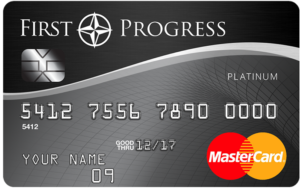 First Progress Platinum Select MasterCard® Secured Credit