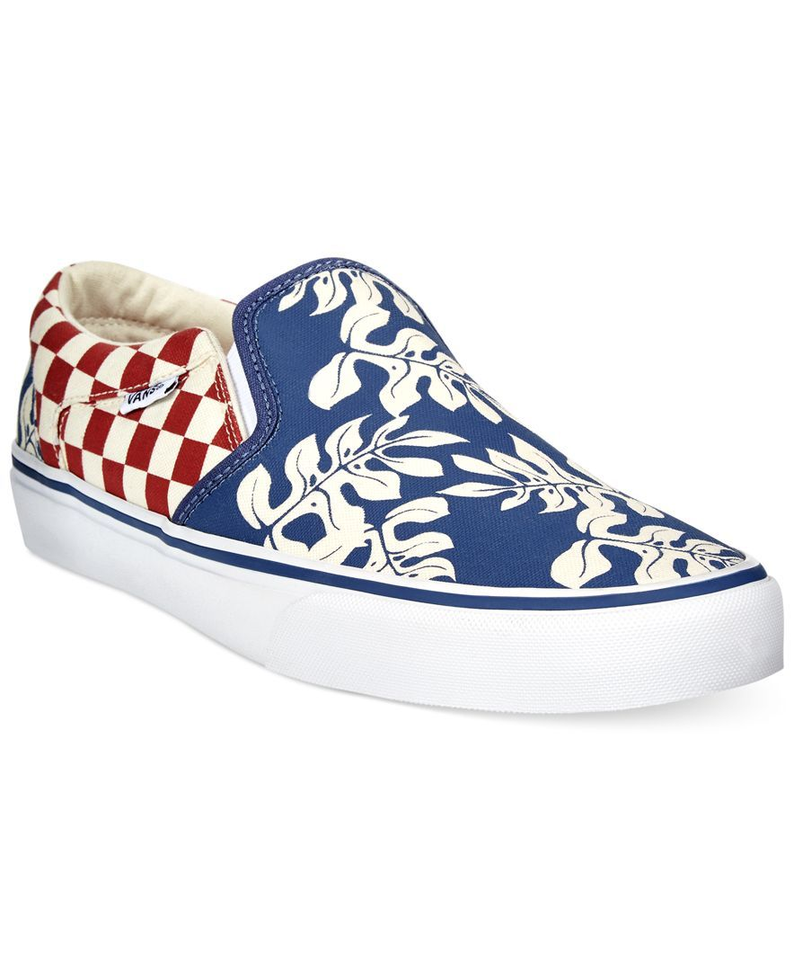 43bc28ce5bb Vans Asher Slip-On Sneakers Your Shoes