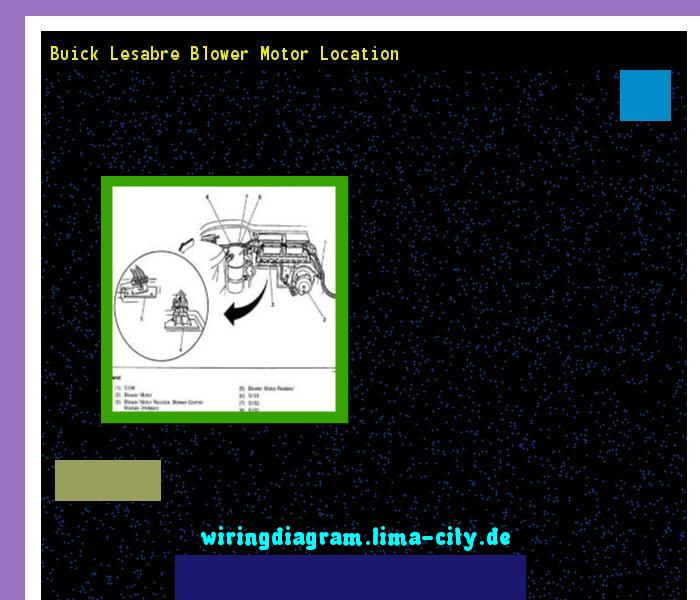 Buick Lesabre Blower Motor Location  Wiring Diagram 175617