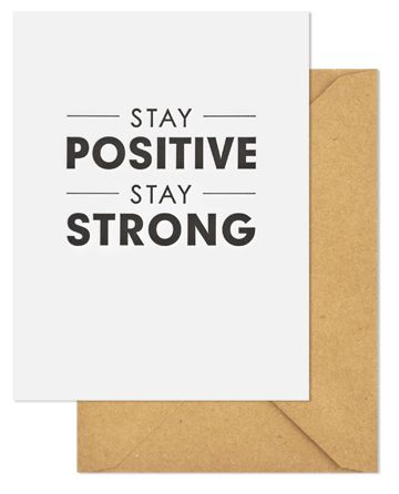 100pk Stay Strong-Sympathy Cards