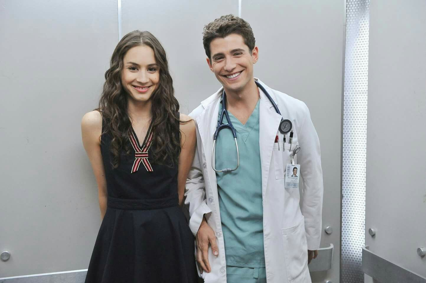 Wren, with a smile like that... You can be our doctor any day.  #BehindTheScenes  30 of 150 // Season 2, Episode 8. #PLLMemoryLane