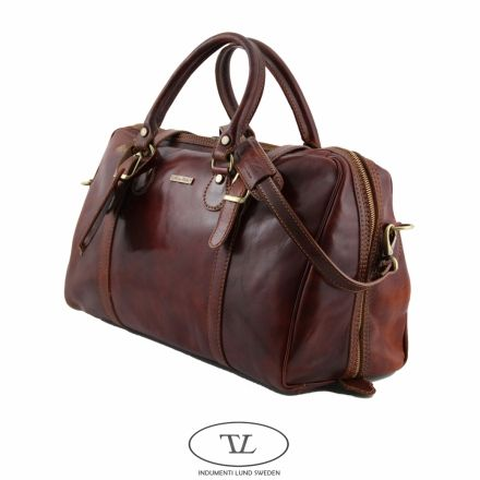 leather carry on bags for men | Indumenti in Lund - Product Video