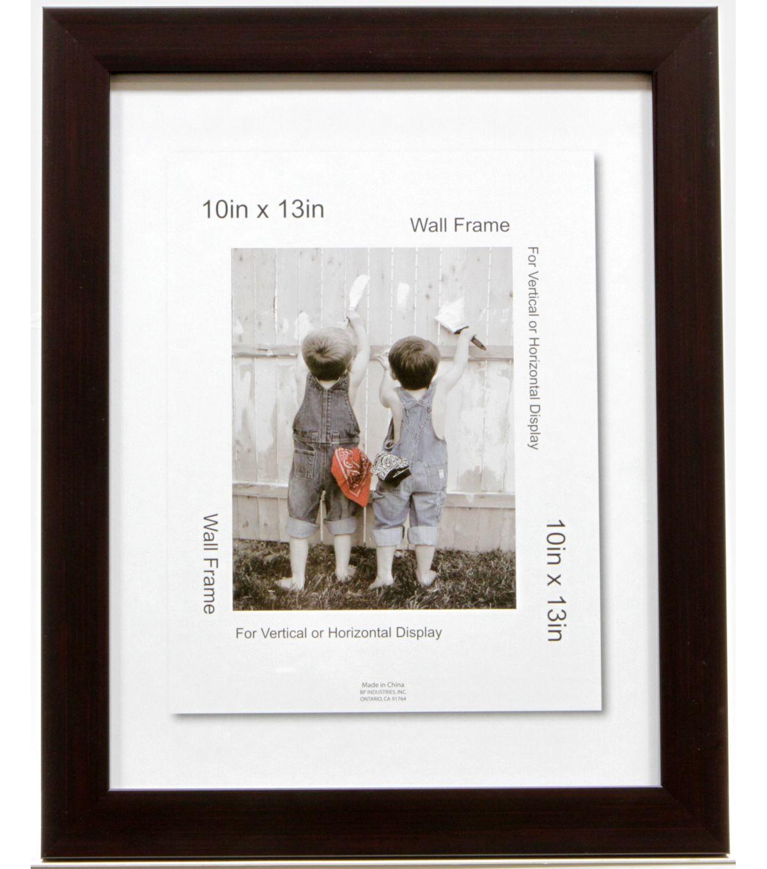 10X13 Op Mahogany Wall Frame10X13 Op Mahogany Wall Frame, | Baby ...