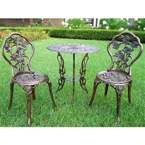 Superb Timeless Old World Design And Style   Beautiful In Any Setting. Sturdy,  Weather Resistant · Bistro SetPatio Furniture ...
