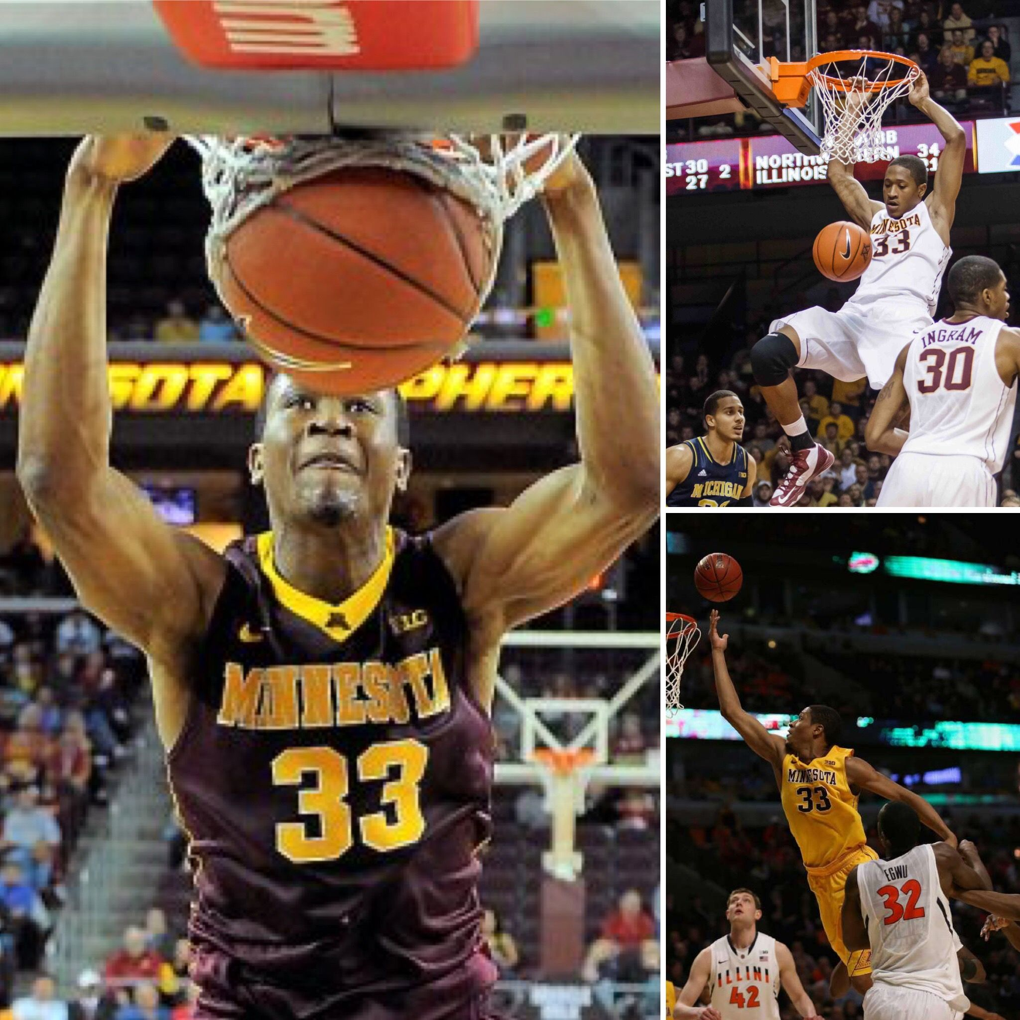 Former Gopher Rodney Williams Was Always A Highlight Reel Gopher Players Williams