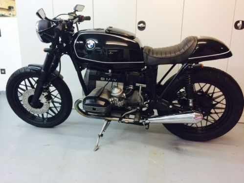 bmw r 45 cafe racer bobber in hessen b dingen ebay. Black Bedroom Furniture Sets. Home Design Ideas
