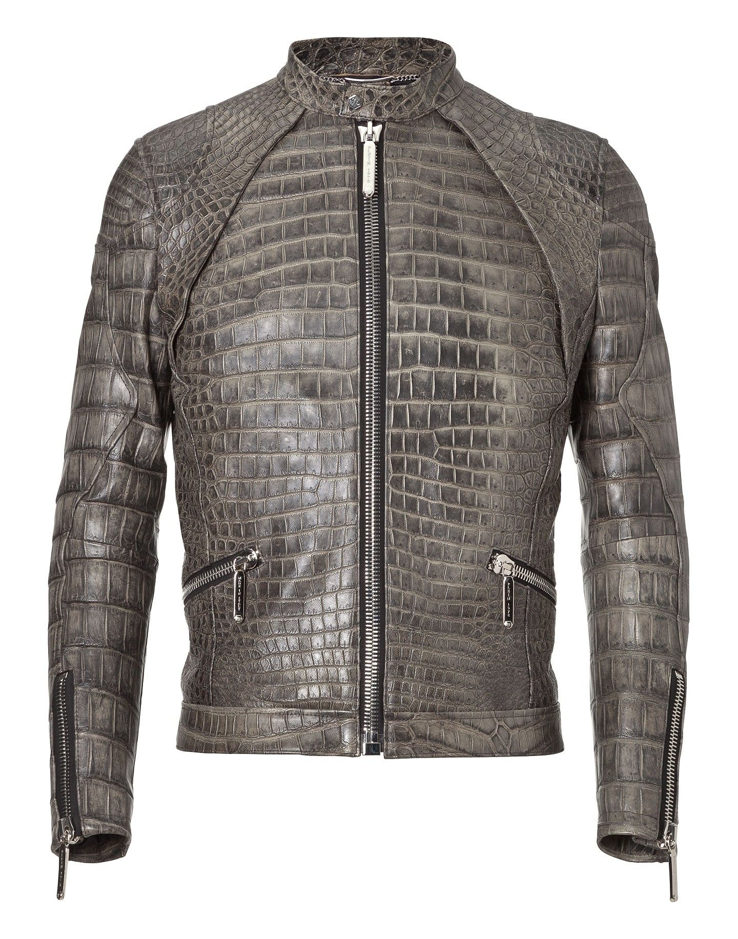 Else Nobody Philipp Jacket cloth philippplein Leather Plein qIRRWw6O
