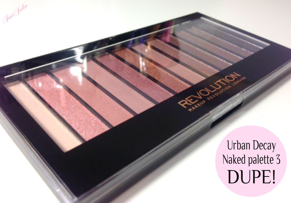 Favori Urban Decau Naked Palette 3 DUPE over on JustJulie | beauty to try  FI79