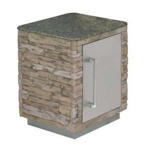 Charmglow Side Island Module 814 6820 0 The Home Depot Stainless Steel Doors The Home Depot Granite Countertops
