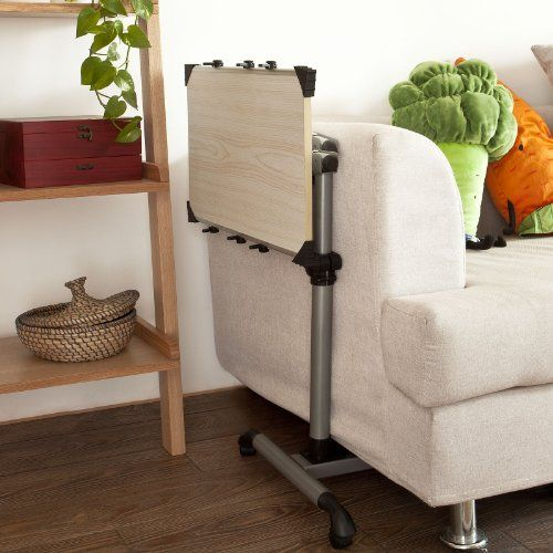 Computer Side Table For Couch Touch Overbed Bed Laptop Sofa Fbt07n W