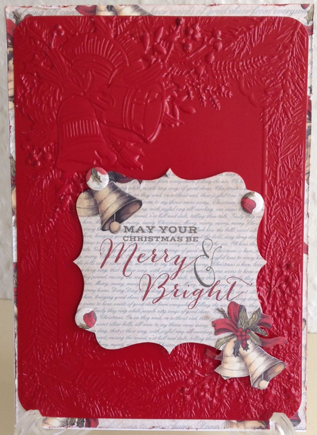 Craftwork Cards Magic Of Christmas 3d Embossing Folder Crafters