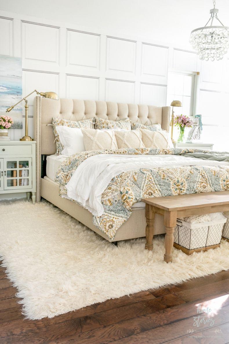 Cozy Coastal Farmhouse Bedroom (With images) Farmhouse