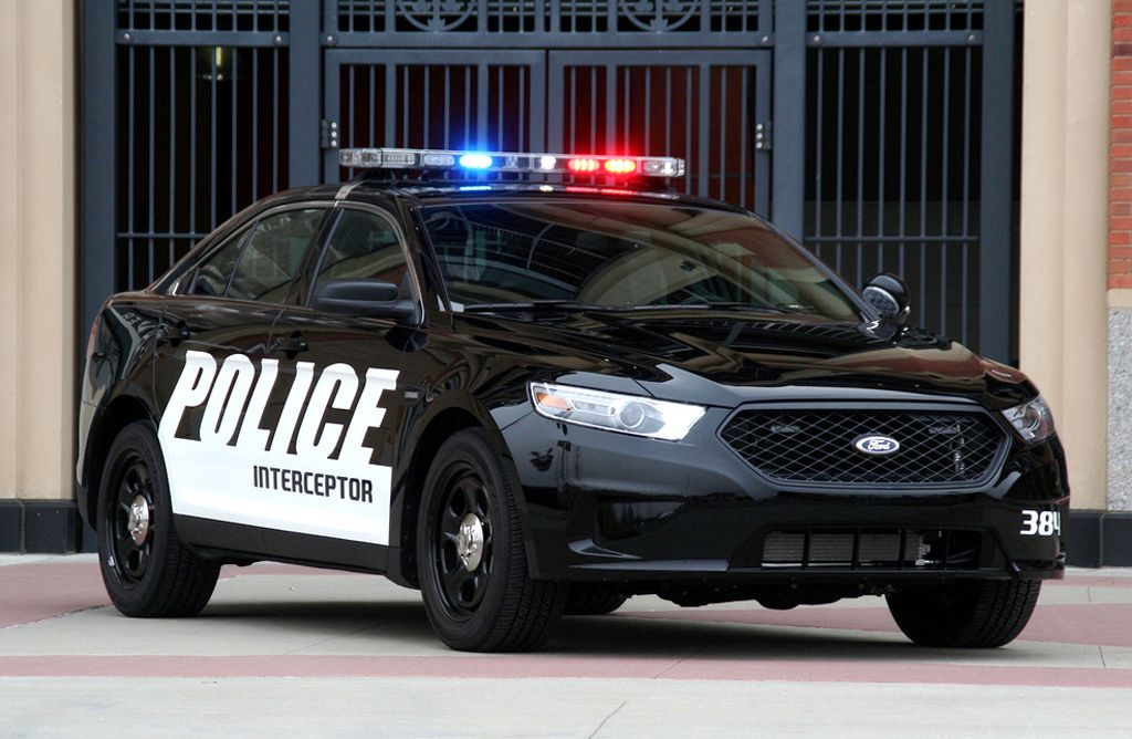 2013 Ford Police Interceptor Sedan With A 3 7 Liter Ti Vct Engine