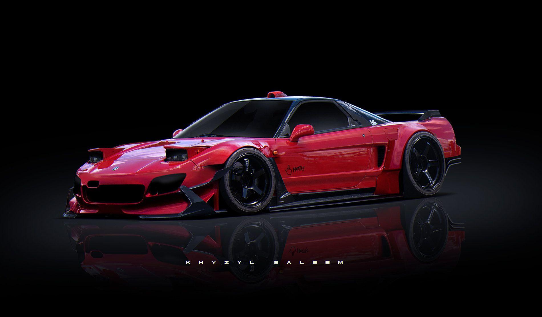 ArtStation - NSX, Khyzyl Saleem   Nsx, Concept car design ...