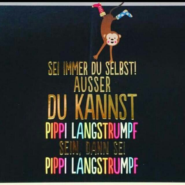 Kunstkarte Kennst du Pippi Langstrumpf ?