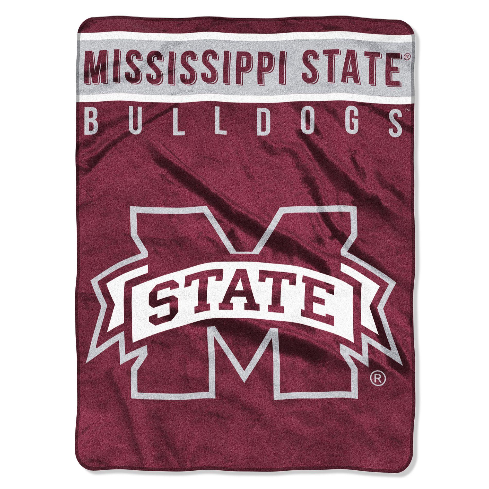 Ncaa Royal Plush Throw Blanket - Mississippi State Bulldogs