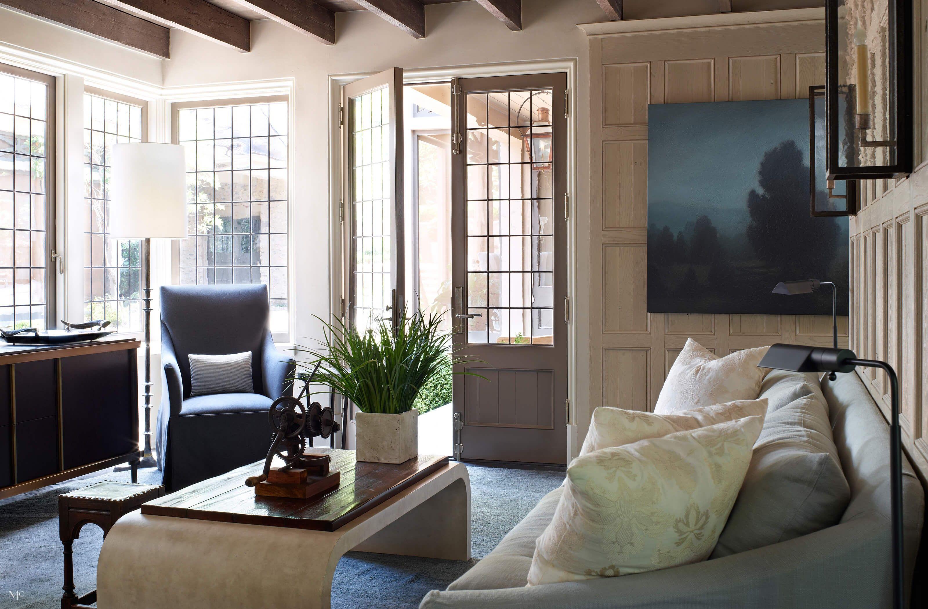 Harmonious Elegance Home French Doors Interior Interior