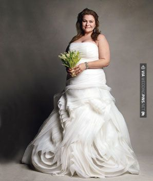Vera Plus Size Wedding Dress Check Out More Great Black And White Ideas At Weddingpins Net Weddings Blackandwhitewedding