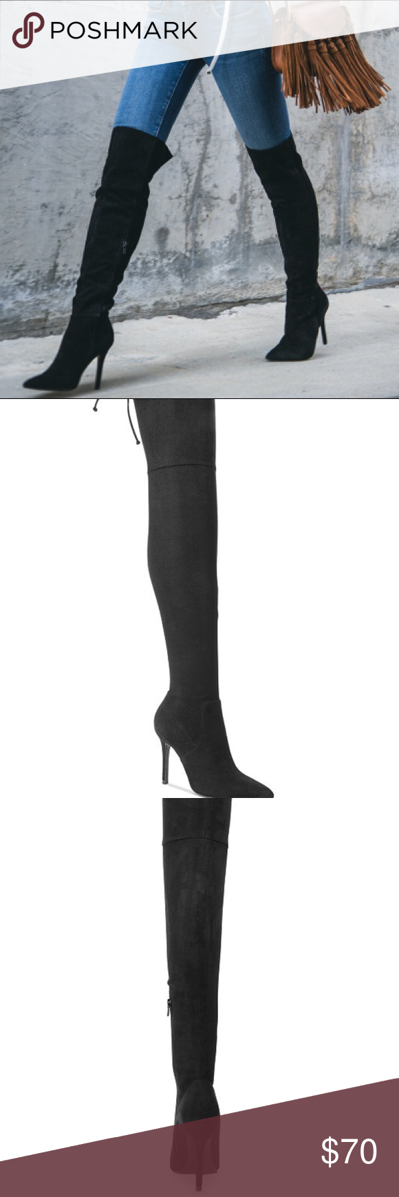 """ccfa7ffe697 Aldo Asteille Over The Knee Boot Sexy thigh high boot with adjustable  string at back. 3"""" heel"""