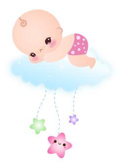 baby girl clip art bebe pinterest b b silhouette enfant et deco creche. Black Bedroom Furniture Sets. Home Design Ideas