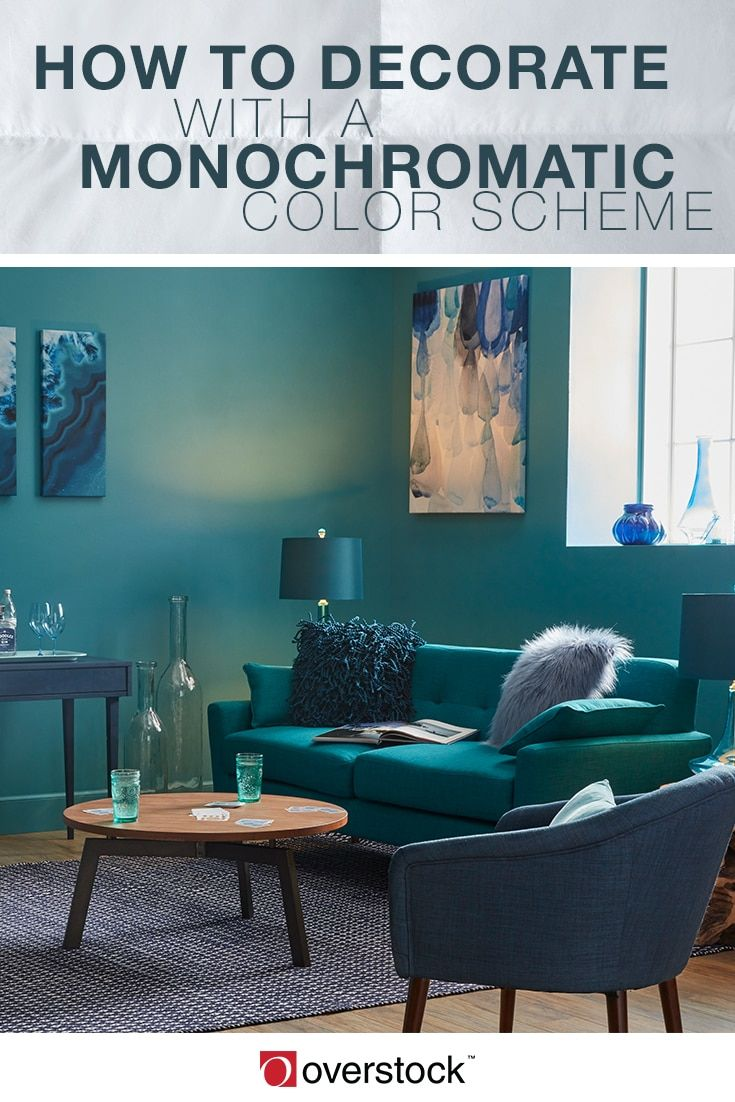 How To Decorate With A Monochromatic Color Scheme Home