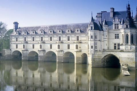 Chenonceau castle century loire valley france castle of sleeping beauty