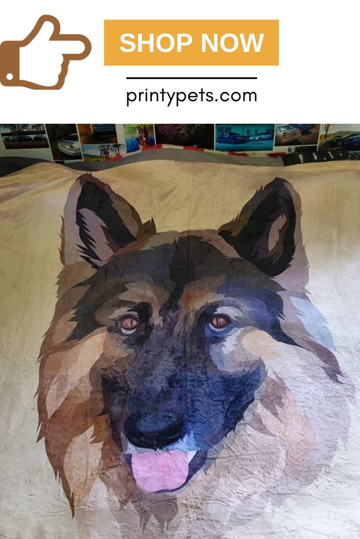 Custom Pet Print Fleece Blanket Print Fleece Blanket Pets Fleece Blanket