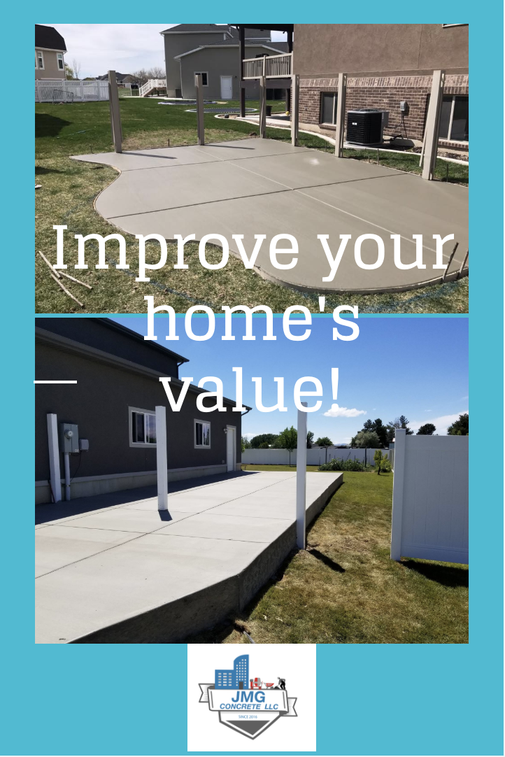 Add an RV pad or a patio to your come to increase your