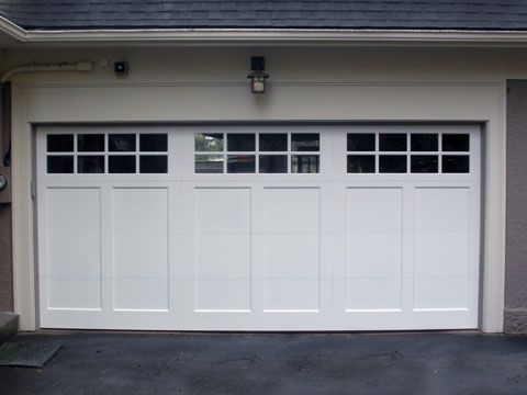 Therma Elite Insulated Steel Garage Door. Built by Northwest Door. Pictured in white & Therma Elite Insulated Steel Garage Door. Built by Northwest Door ...