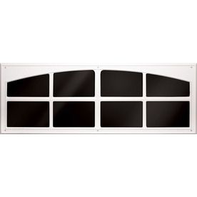 Shop Coach House Accents 2 Pack 45 5 In White Mold In Color Plastic Garage Door Simulated Window At Lowes Garage Door Windows Garage Doors Garage Door Hardware