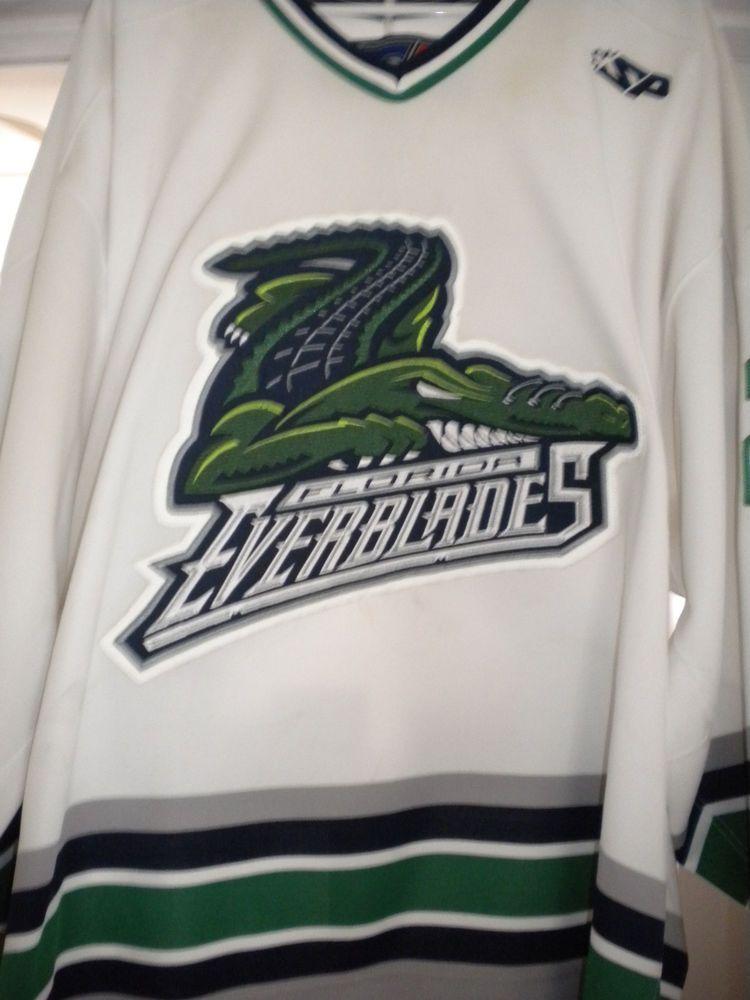 ECHL AHL FLORIDA EVERBLADES PETER REYNOLDS GAME WORN HOCKEY JERSEY (eBay  Link) 2979e13aa
