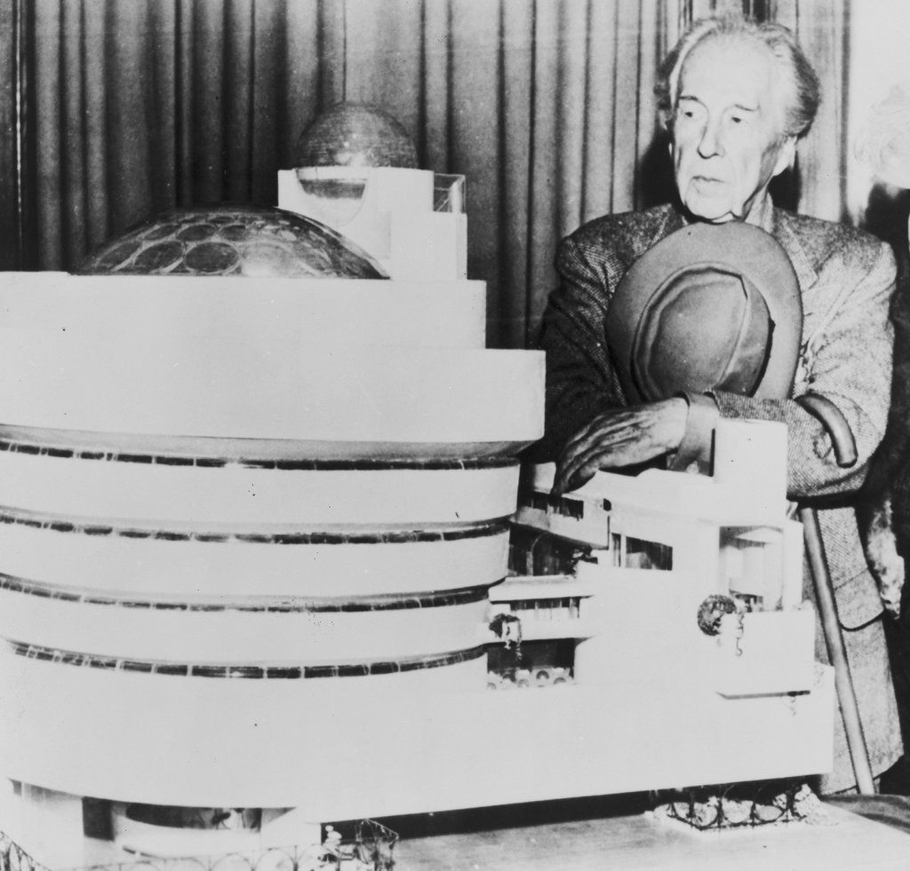 In 'Architecture's Odd Couple,' It's Philip Johnson vs. Frank Lloyd Wright