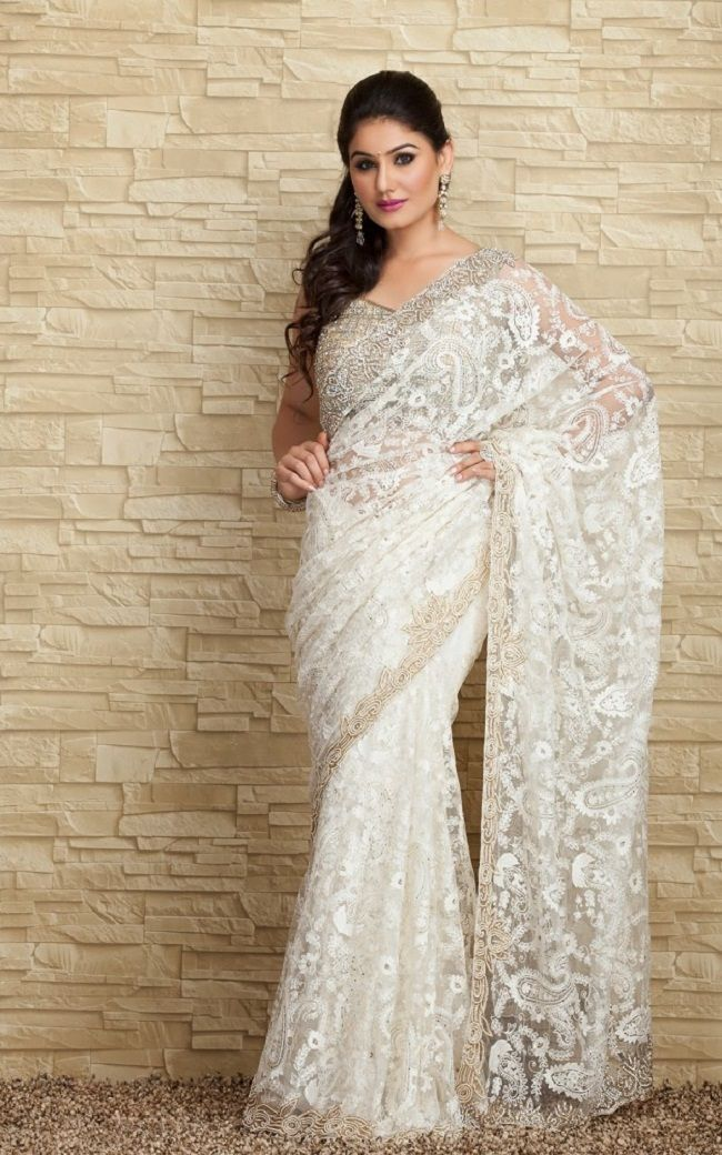 171d7e5b1 white indian wedding dress | wedding dresses | Wedding dresses ...
