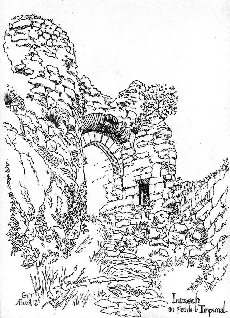 Luzech au pied de l'Impernal | by Cat Gout
