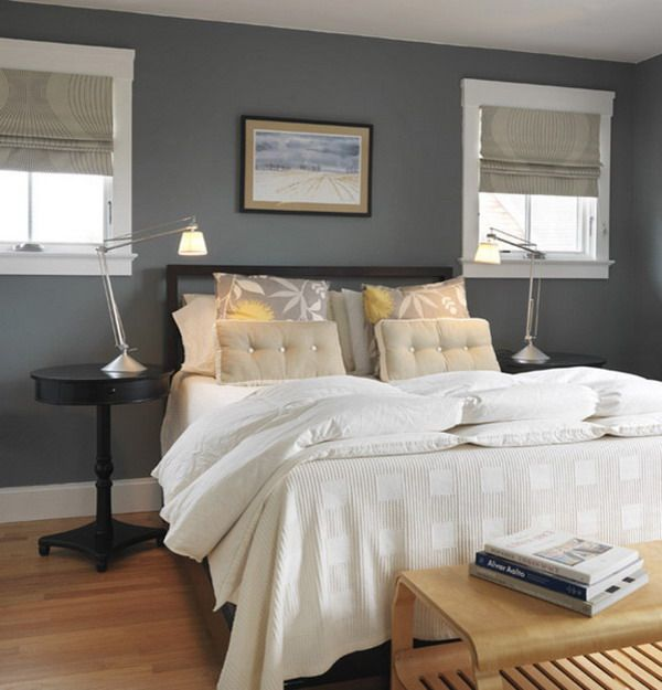 Beautiful Bedrooms 15 Shades of Gray Grey bedroom colors Gray