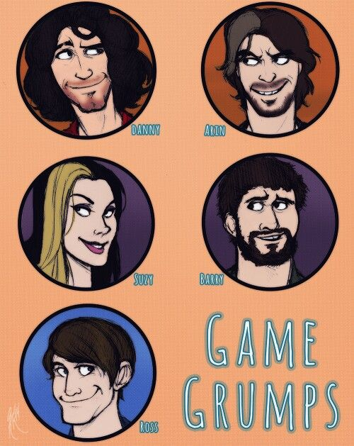 the current game grumps danny arin suzy barry and ross game
