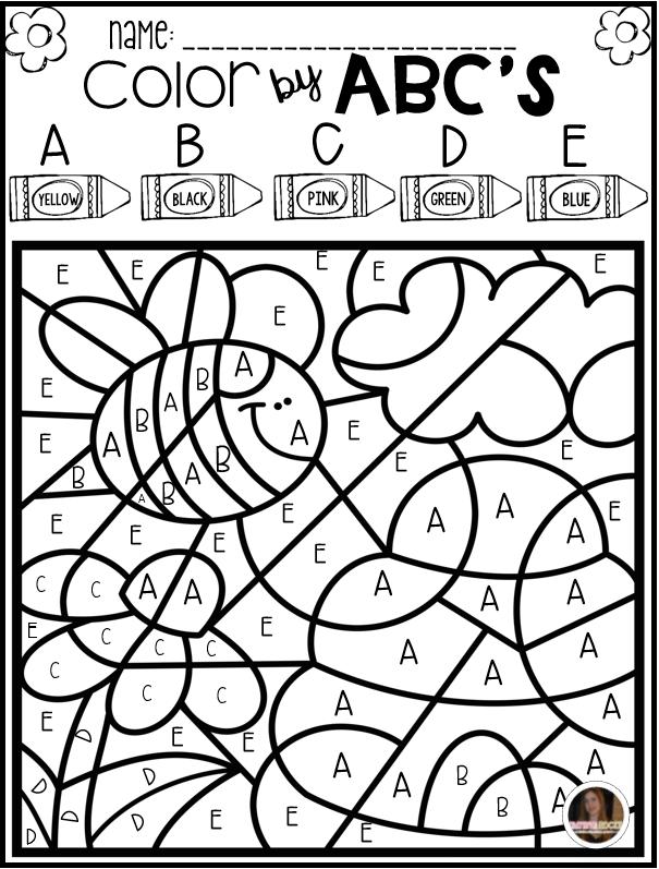 Color by Code ABC's Season Bundle | Best of Preschool ...
