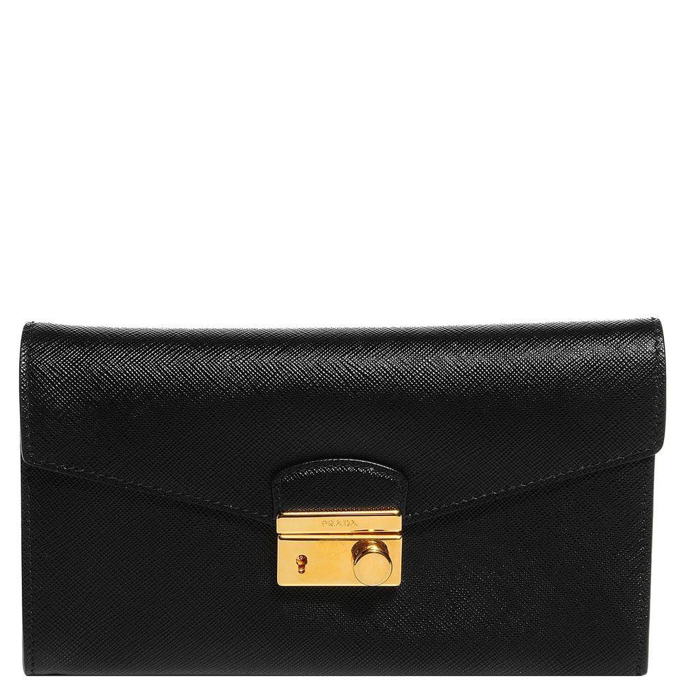 ac598442cebb ... where can i buy prada saffiano sound clutch bag purse handbag nero  black prada clutch prada