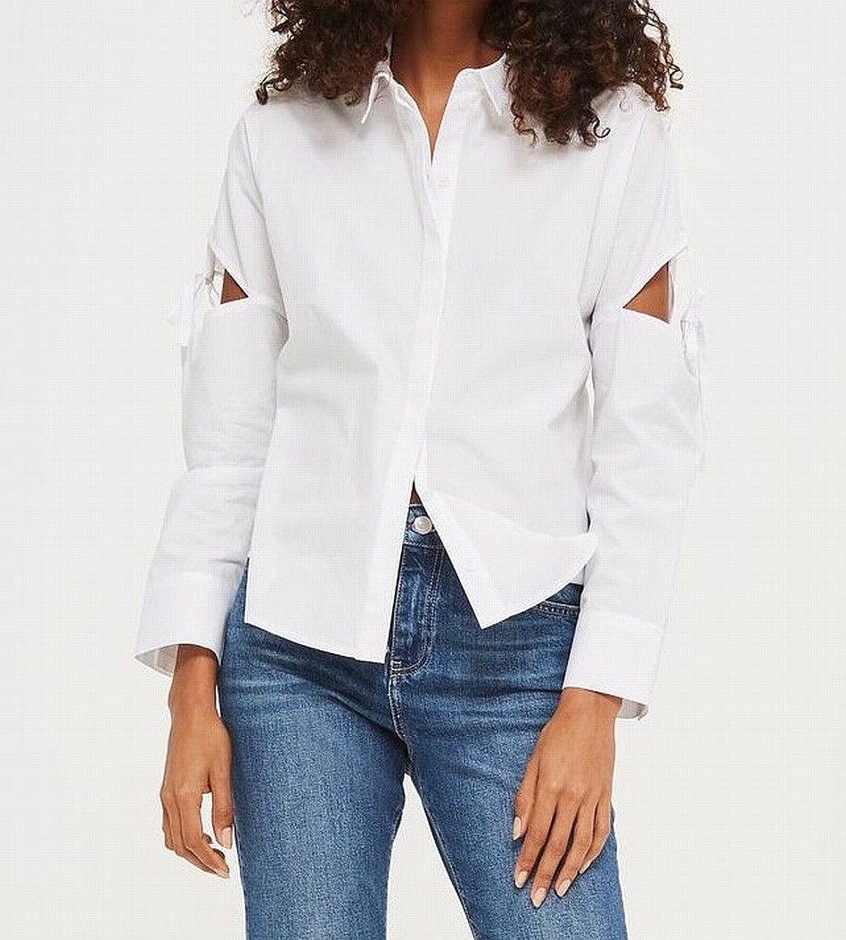 White Shirt Womens Topshop