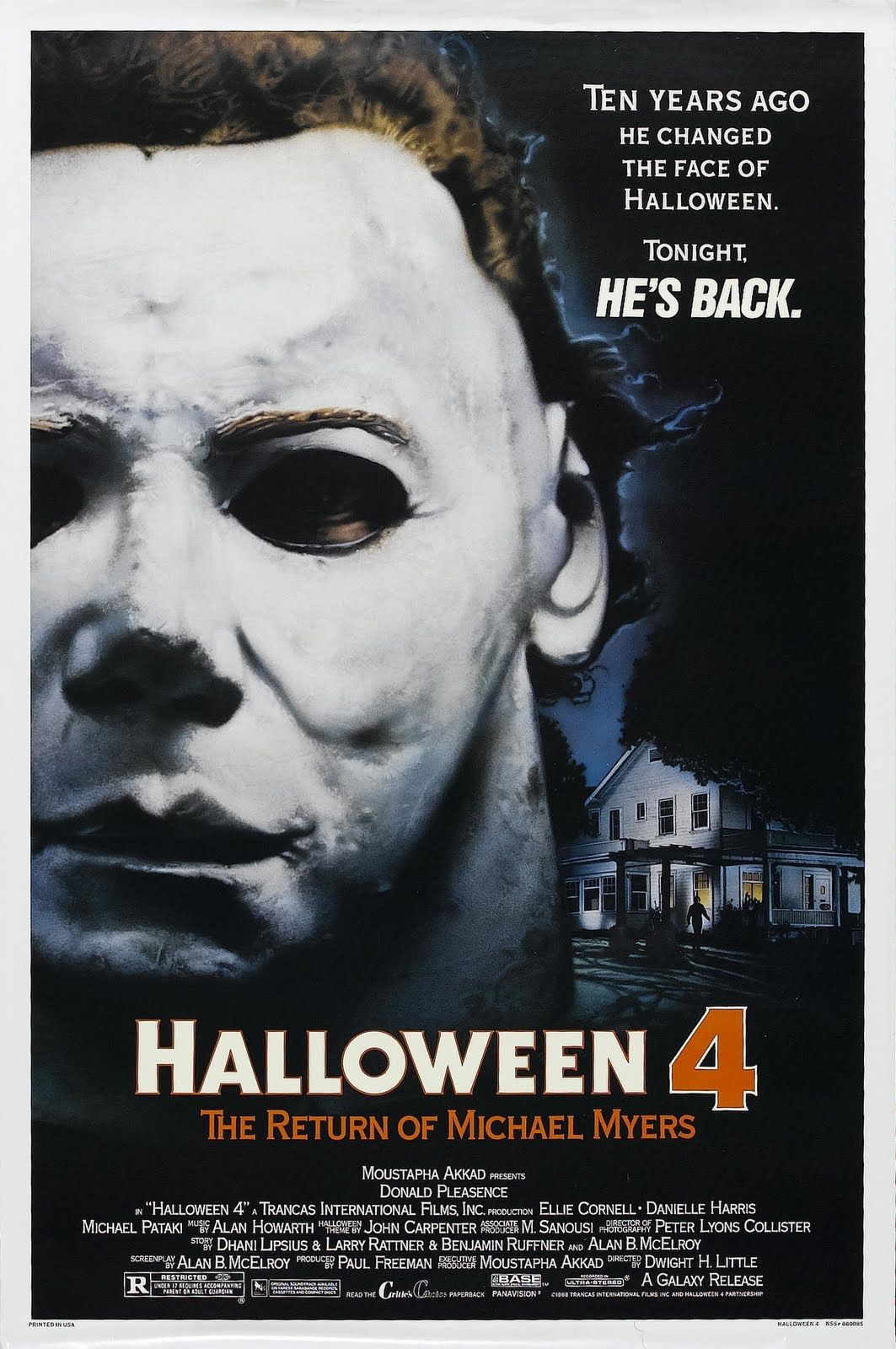 Halloween 4 The Return of Michael Myers Horror Movie