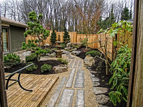 Zen Japanese Rock Garden   Rock U0026 Stone Garden Design Part 66