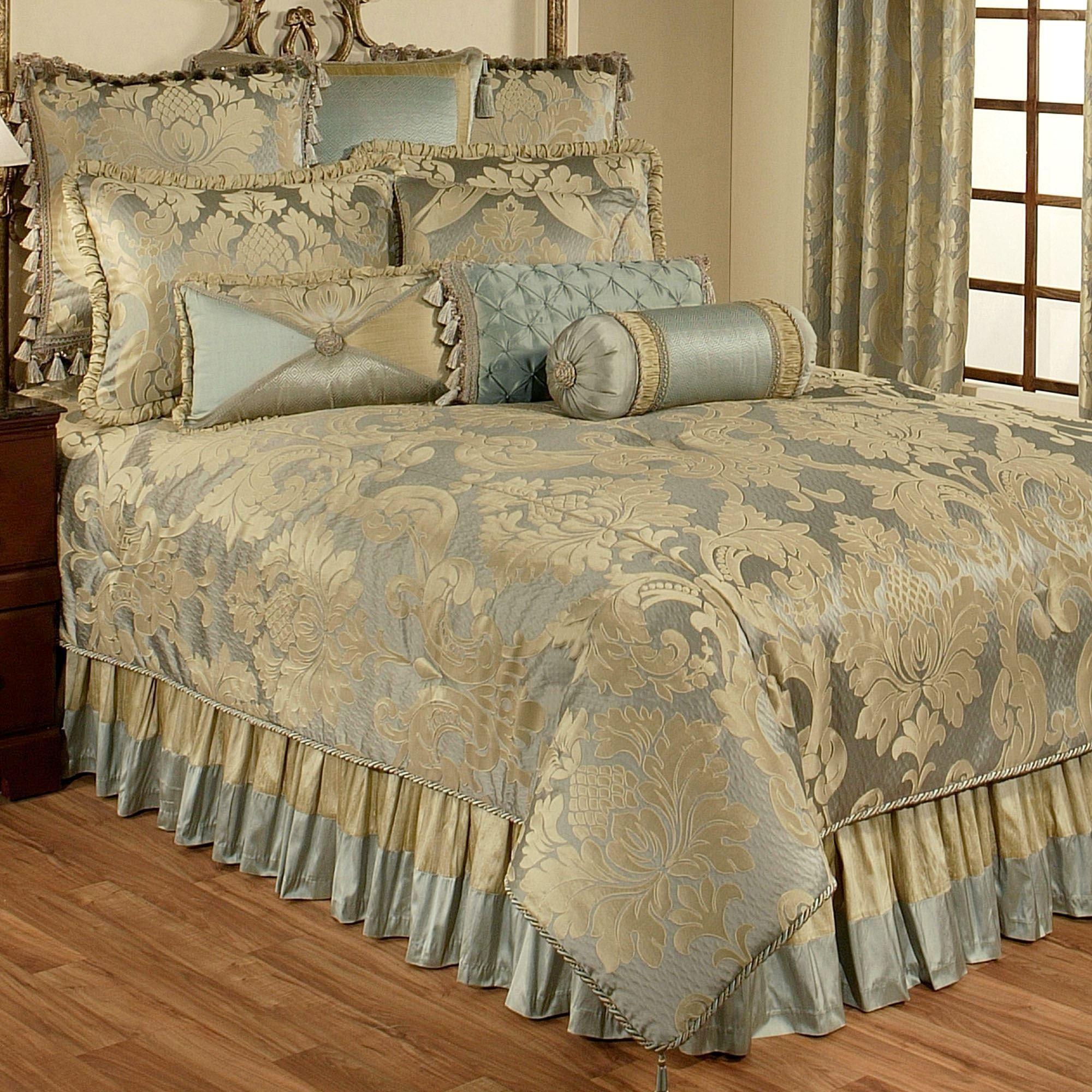 Duchess damask comforter bedding comforter sets bed