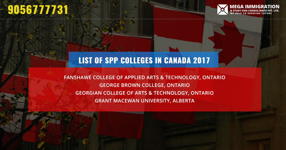 List Of Spp Colleges In Canada 2018 Centennial College College Algonquin College