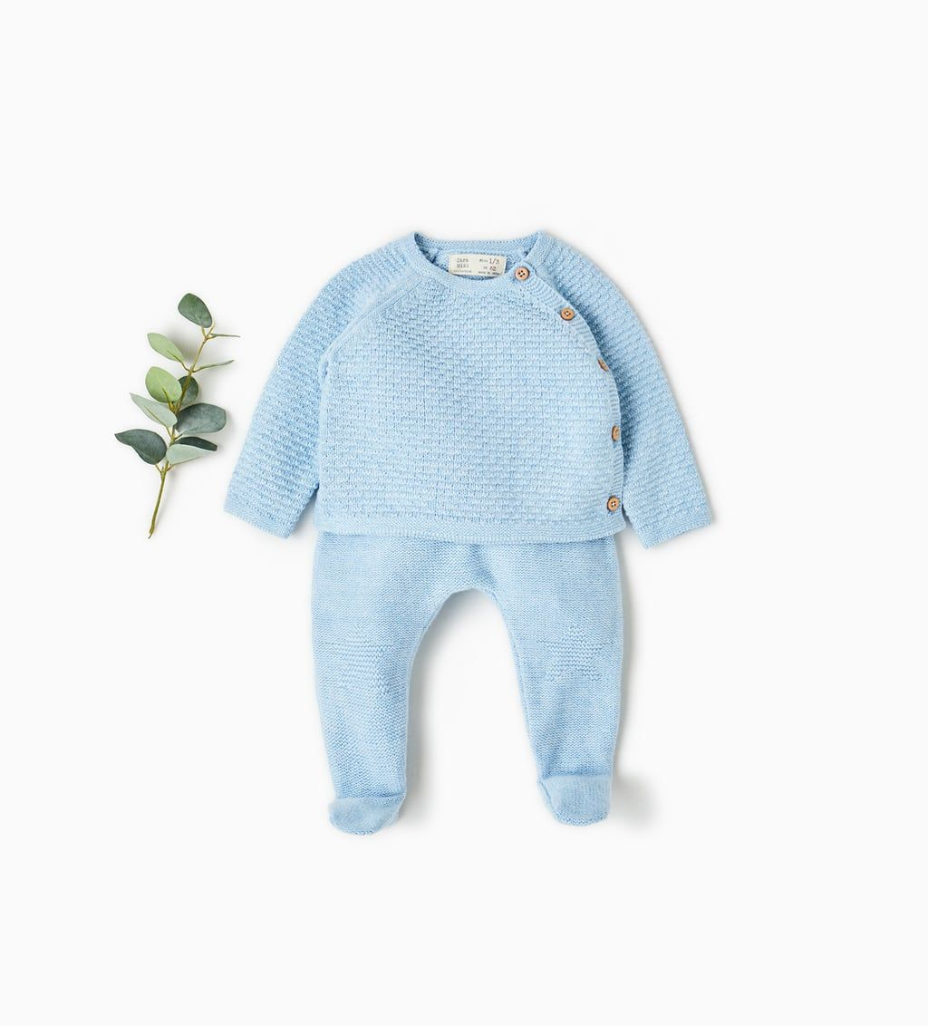 Knitwear Mini 0 12 Months Kids Zara Spain Newborn Boy Clothes Winter Baby Clothes Baby Outfits Newborn